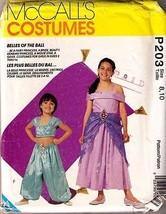 1993 COSTUME Pattern P203-m - Girl Size 8-10 - UNCUT - $12.59