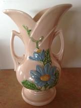 """Vintage 1940's - Hull Art Pink Magnolia Glazes Vases H - 12  -10 1/2"""" Ma... - $74.95"""