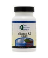 Vitamin K2 with D3 - 60 Capsules - $30.60