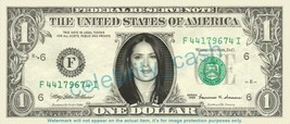 SALMA HAYEK on REAL Dollar Bill Cash Money Bank Note Currency Dinero Cel... - $4.44