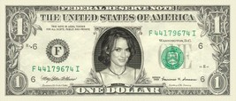 WINONA RYDER on REAL Dollar Bill Cash Money Bank Note Currency Dinero Ce... - $4.44