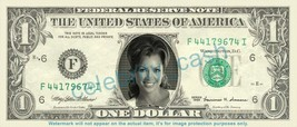 VANESSA WILLIAMS on REAL Dollar Bill Cash Money Bank Note Currency Diner... - $4.44