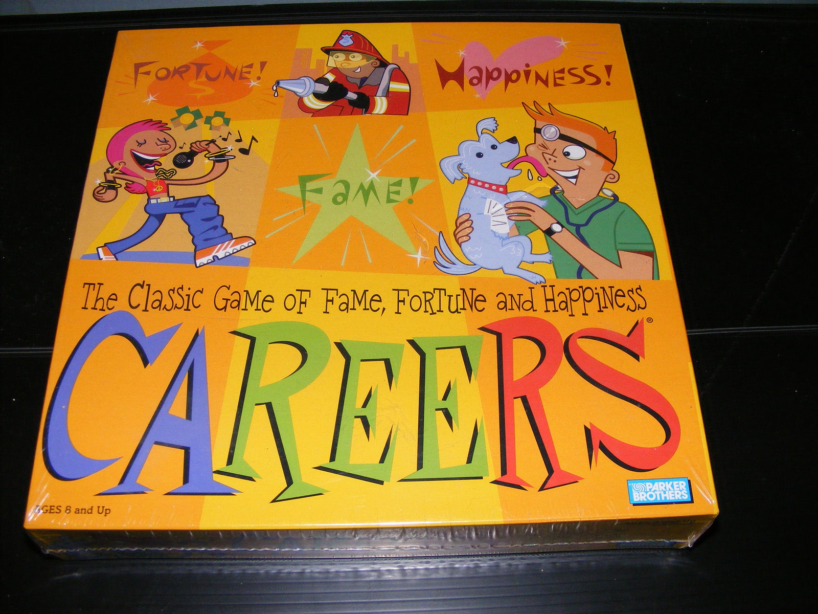 Primary image for 2003 Careers Board Game Parker Brothers NEW