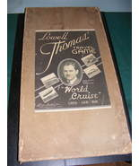 RARE 1937 Lowell Thomas World Cruise Travel Game - $525.00