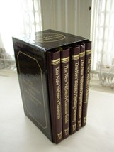 5pc-Set of 1986 New Webster Deluxe 6.5in x 4in ... - $17.05