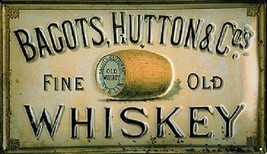 """Bagots, Hutton & Co's. """"Fine Old Whiskey"""" Vintage Styly Magnet - $7.99"""