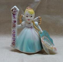 Vintage JOSEFS ORIGINALS Birthday Girl Age 1 Figurine - Birthday Angel Cake Topp - $13.00