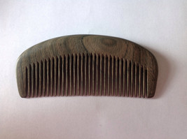 Organic Green Sandalwood Beard Comb UB's Beard Basics Antistatic Massaging Thera - $19.00