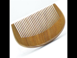 Organic Green Sandalwood Beard Comb UB's Beard Basics Travel Size Pocket Comb An - $15.00