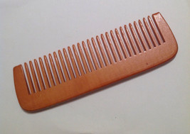 Organic Peach Wood Beard Comb UB's Beard Basics a Division Of Beard Bauble Ornam - $15.00