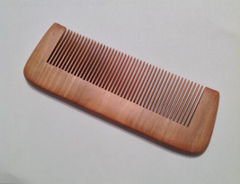 Organic Red Sandalwood Beard Comb Natural Aroma Antistatic Massaging The... - $15.99