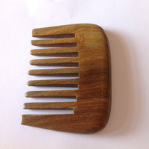 Organic Green Sandalwood Wide Tooth Beard Comb UB's Beard Basics a Divis... - $24.99