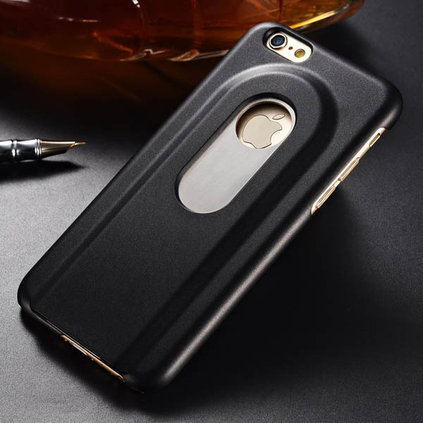 beers bottle opener hard case for iphone 6 4 7 inch aluminum back cover meta cell phone. Black Bedroom Furniture Sets. Home Design Ideas