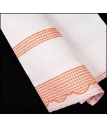 Orange Madagascar 14ct Kitchen Towel 18x27 100%... - $7.38