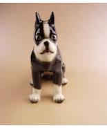 Vintage Boston bull terrier  figurine - Bulldog statue - vintage made in... - $65.00