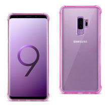 Reiko Samsung Galaxy S9 Plus Clear Bumper Case With Air Cushion Protecti... - $13.16
