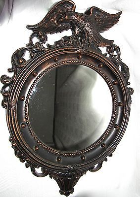 Vintage 1959 Coppercraft Guild Eagle Wall Mirror - Made in USA