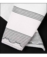 Black Madagascar 14ct Kitchen Towel 18x27 100% cotton FREE CHART STS Crafts - $7.38
