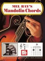 Mel Bay's Mandolin Chord Book/Big Grids/Irish T... - $4.99