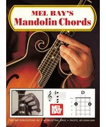 Mel Bay's Mandolin Chord Book/Big Grids/Irish Tenor Banjo/Easy To Read - $4.99