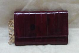 Vintage LEATHER Key Holder Card Holder 6 KEY HOLDER Wallet - $12.00