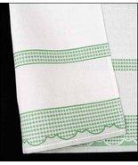 Green Madagascar 14ct Kitchen Towel 18x27 100% cotton FREE CHART STS Crafts - $7.38