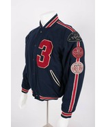 Gap Men's Varsity League Bomber Jacket Coat Small Letterman Wool Patches... - $158.39