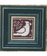 Winter Redbird + White cross stitch chart Bent Creek  - $6.75