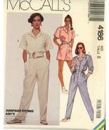 McCall's 4186 Misses Jumpsuit Size 8 - $2.00