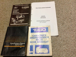 1990 FORD CARGO TRUCK Service Shop Repair Manual OEM FACTORY Set W EWD +... - $227.65