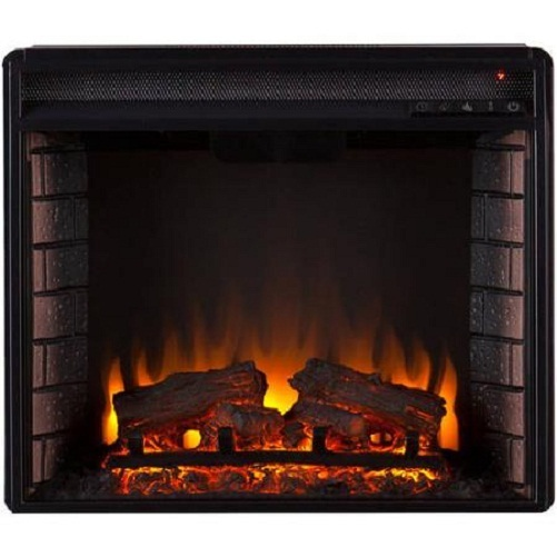 1500 Watt Freestanding Electric Fireplace Heater Stand Wood Vintage Fireplaces Mantels