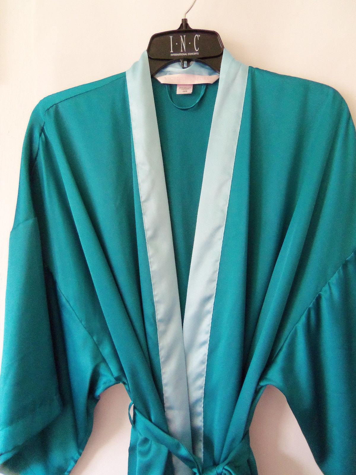 9aa6b454e72 Victoria s Secret Satin Kimono Robe 100% Polyester