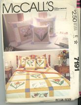 McCall's 7191 Quilt and Pillow Covers - $3.00
