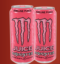 Monster pipeline punch(guava flavor). 2 total cans - $15.99