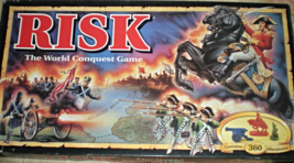 Risk - The World Conquest Game -1993 Board Game - compete Excellent - $30.00