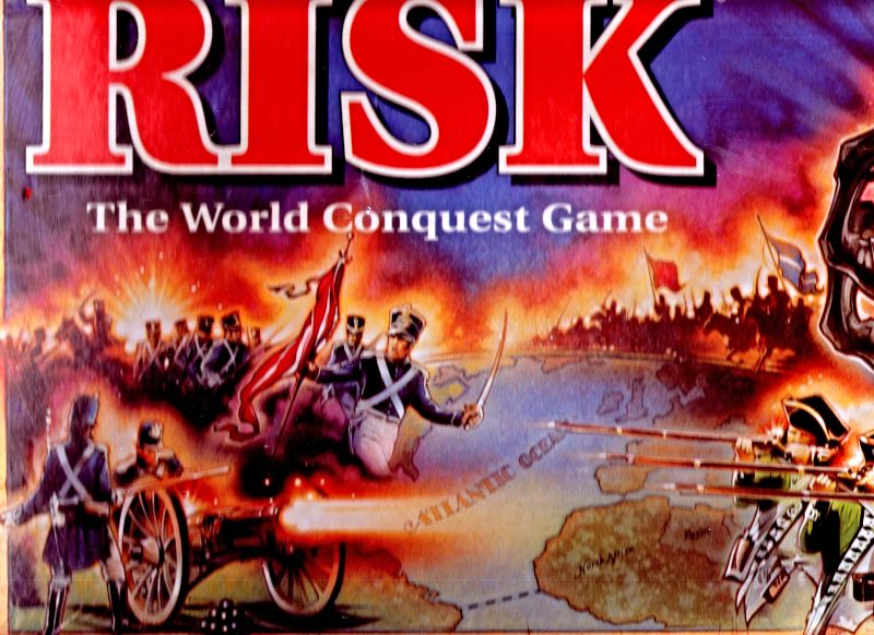 Risk - The World Conquest Game -1993 compete