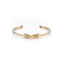 Women's Adjustable Infinity Toe Ring 14k Rose Gold Finish 925 Sterling S... - $9.99