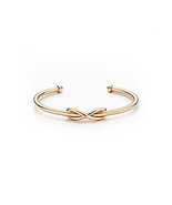 Women's Adjustable Infinity Toe Ring 14k Rose Gold Finish 925 Sterling S... - £8.13 GBP