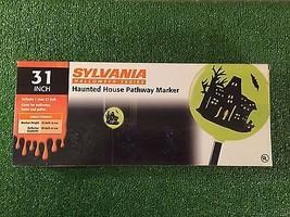 "NEW Halloween Sylvania 31"" Lighted Haunted House Pathway Marker - $26.99"