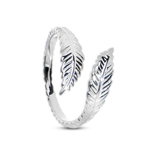 Women's Fashion 14k White GP Silver 925 Vintage Adjustable Jewelry Leaf ... - $9.99