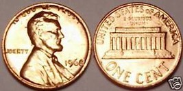 1968-P GEM UNCIRCULATED LINCOLN CENT~FREE SHIPPING INC~ - $2.88