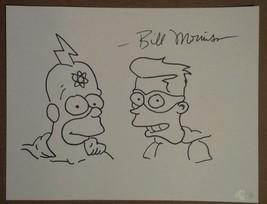 The Simpsons Bill Morrison Radioactive Man Fallout Boy Sketch + Autograp... - $119.99