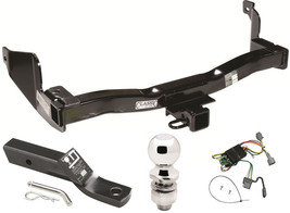 COMPLETE TRAILER HITCH PACKAGE FOR 1998 NISSAN QUEST & MERCURY VILLAGER ... - $246.41