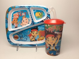 Jake And The Neverland Pirates Plate & Cup Set. - $12.95