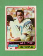 1981 Topps Kellen Winslow Rookie Chargers - $8.00