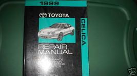 1999 Toyota Celica Servicio Reparación Tienda Taller Manual OEM Fábrica de Agua - $18.78