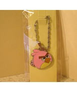 NECKLACE & PENDANT CHILDS PINK MEAN ANGRY BIRD ... - $7.99