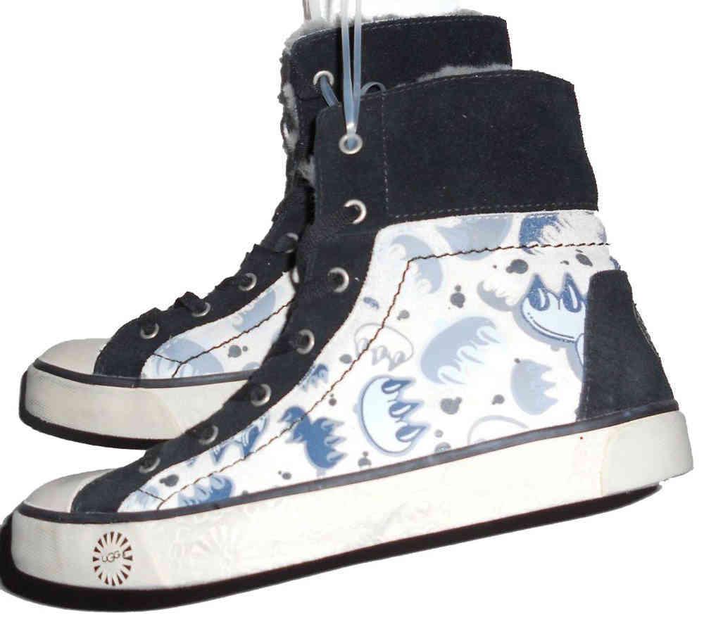 UGG Australia Women's Stellah Graffiti High-Top Sneakers