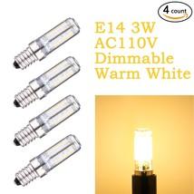 Weanas®-4PC x E14 Base 70 LEDs 3W AC 110V Warm White Dimmable Light Bulb... - €14,53 EUR