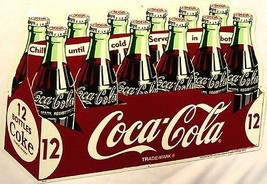 Coca-Cola 12 Pack Limited Edition Sign - $125.00